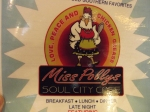 This is the second time we ate at Miss Polly's in the past five years!