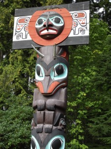 I think this was produced by the Haida.