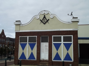 They even preserved an old Masonic Temple. My father was a Mason.