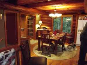 Jim and Sally's welcoming dining room!