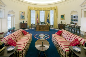 Bill Clinton's office is spectacular compared with Truman's!