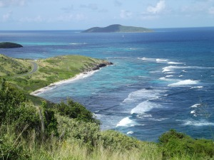 The East End of St. Croix. It is so peaceful!