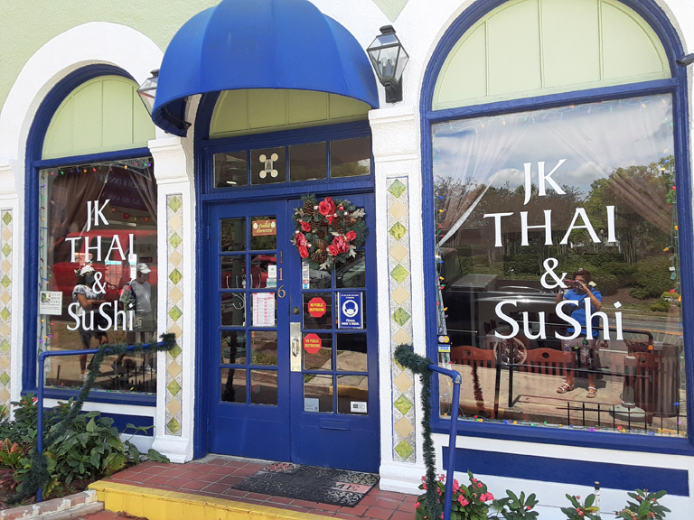 Great Thai and Japanese Food