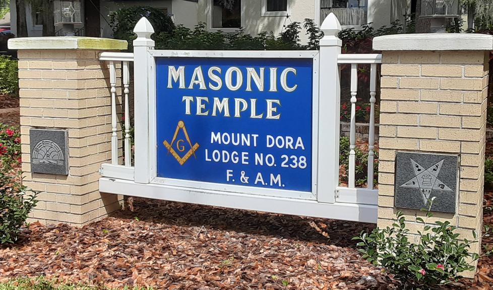 Masonic Temple Sign