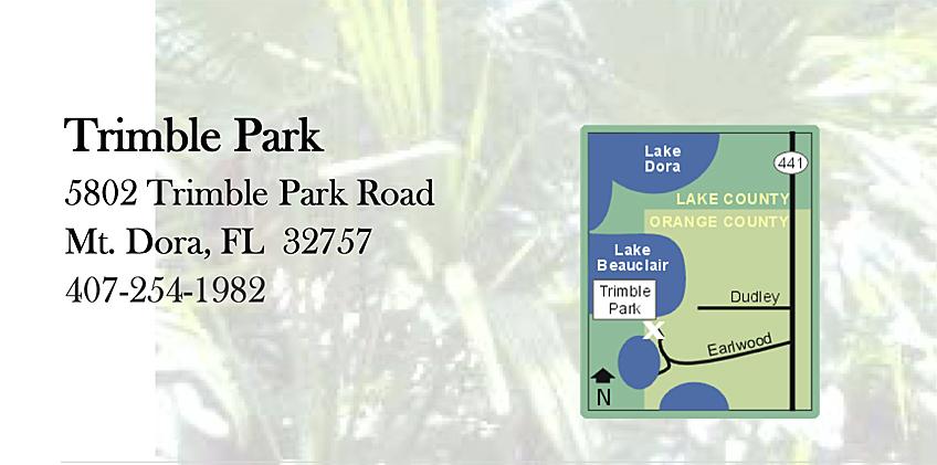 Trimble park map